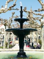 Fuente urbana Cascada La Nave
